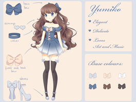 [OC] Yumiko - Reference by Verisse