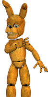Unscraptrap / SpringBonnie Model by BlackiieProductions