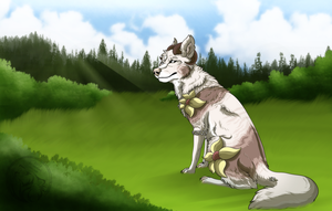 Cm - At the meadow by AzureHowlShilach