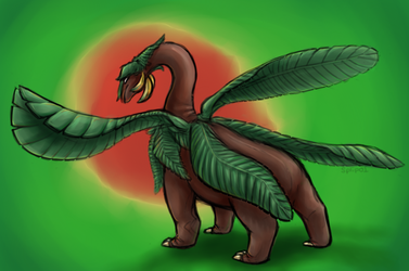 Tropius by splip01