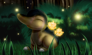 A Light in the Forest by MyataTheCupcake