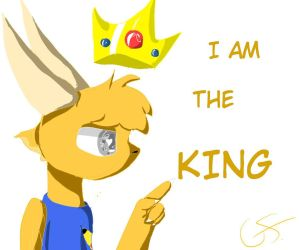 I Am The KING by FnafcatUT