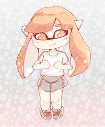 Splatoon - Inkling by Zalosta
