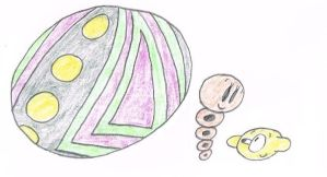 Colored Neighbors 6 - Giant Ball, Snake and Lemon by thecrazyworldofjack