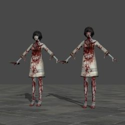 Fuyuhi Himino (Ghost) - Fatal Frame 5 by TheForgottenSaint47