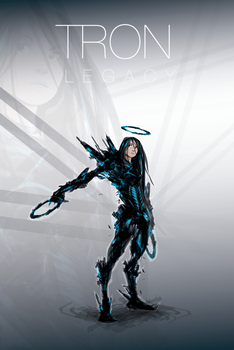 Tron Character Design: Aster by ChasingArtwork