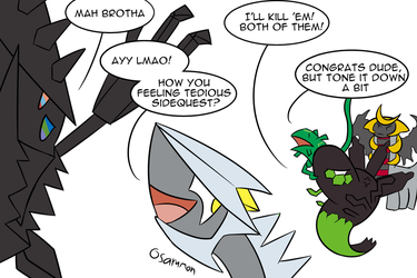 Ultra Sorry Zygarde by osarumon