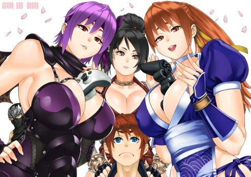 Ninja Gaiden Girls by solid-zonda