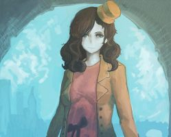 lady layton by o-val