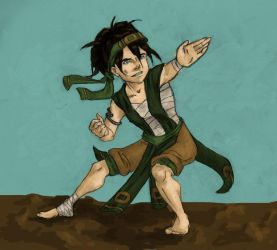 Earth Nation Toph by Rushstarfire