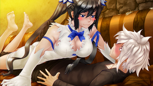 Hestia  and Bell by Itselfsearcher