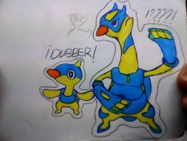 Dubber oficial artwork and possible evolution by pepon99