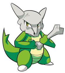 I Dig You Collab: Shiny Marowak by osarumon