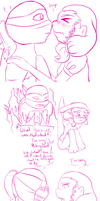TMNT: Dared by AmayahimeDoodles