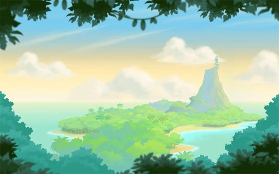 Angry Birds Stella Chapter One Background by jjnaas