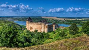 Khotyn Fortress by roman-gp