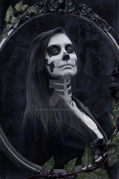 Portrait of Deaths Wife