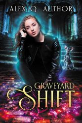 Graveyard Shift - premade book cover by LHarper