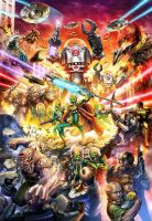 Mars Attacks Poster Final Color Master by C-McCown