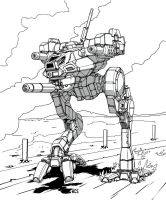 Battletech - Locust by Shimmering-Sword