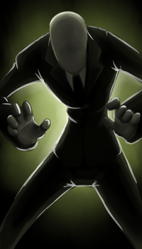 Slenderman by forte-girl7