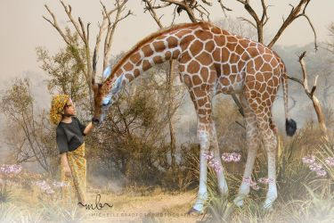 Little African Princess by MichellewBradford