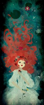 Ophelia by mairimart