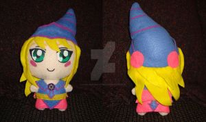 Dark Magician Girl Plushie by Dark-and-One-Other