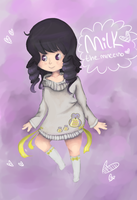 Milk Gijinka by RascalWabbit