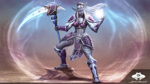...Commission: Nightborne Astromancer... by ShadowPriest