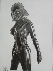 Lady Darth Vader by Sinazzio