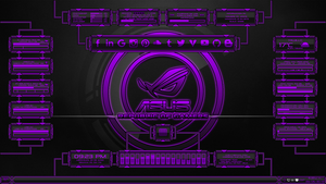Evolucion(Series) for Rainmeter - Purple Edition by Agelyk