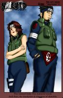 Asuma and Kurenai by Doctor-Hobo