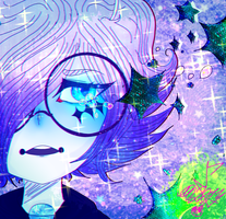 - GALAXY TEARS - by MikuBlazeTheKat