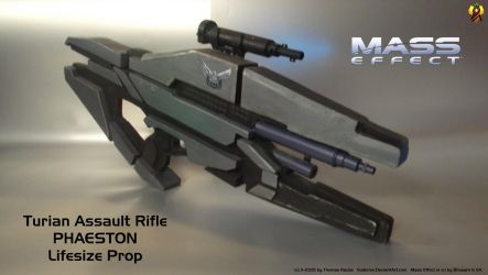 Mass Effect Phaeston Rifle Prop (2) by Euderion