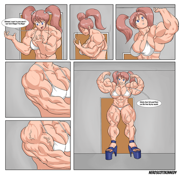 Muscle Growth Commission part 4 (FINAL) by NeroScottKennedy