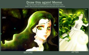 Draw this again 2011 vs 2014 by emptycicada1