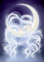 Deep Sea Moon by lady-narven