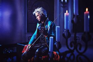 Vergil - Son of Sparda - Devil May Cry 3 by Aoki-Lifestream