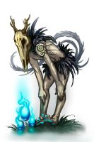 Young bog spirit by Tottor