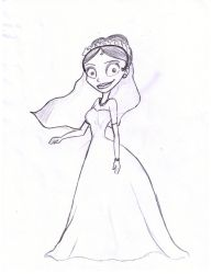 A Bride by LooneyLonds