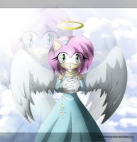 Dreaming Angel - Amy Rose by Dj-Reverberance