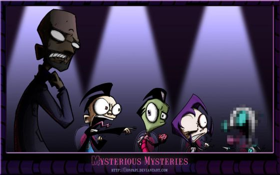 Zim -Mysterious Mysteries- by DonPapi