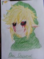 Ben Drowned by Ladyjeanette18