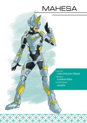 Indonesia Hero Project - Mahesa by Lostiousness
