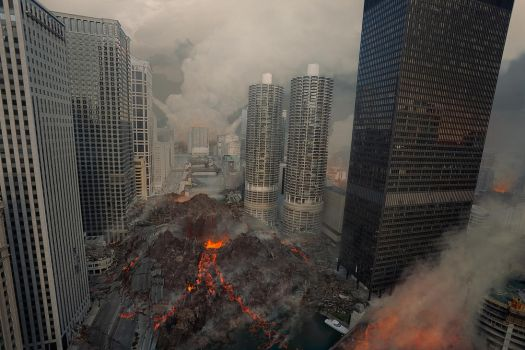 The Chicago Eruption by AndreeWallin