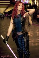 Mara Jade kotobukiya - Star Wars EU by Queen-Azshara