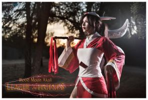 League of Legends: Akali, the Fist of Shadow. by DidsRainfall