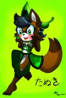 Tanuki finished color by Nyahchi64
