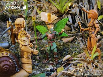3D Printed Flower Fairy Action Figure C by hauke3000